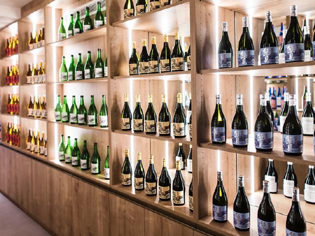 Une Maison du saké à Paris