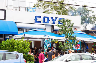 Coyo Taco's Rum and Bass block party