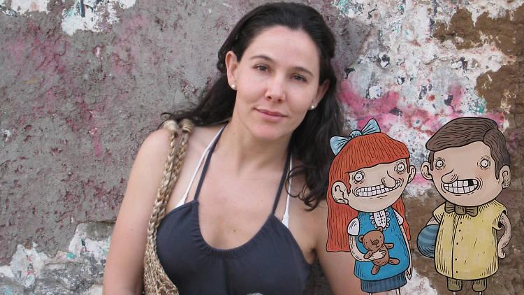 Kirén Miret autora de La asquerosa enciclopedia