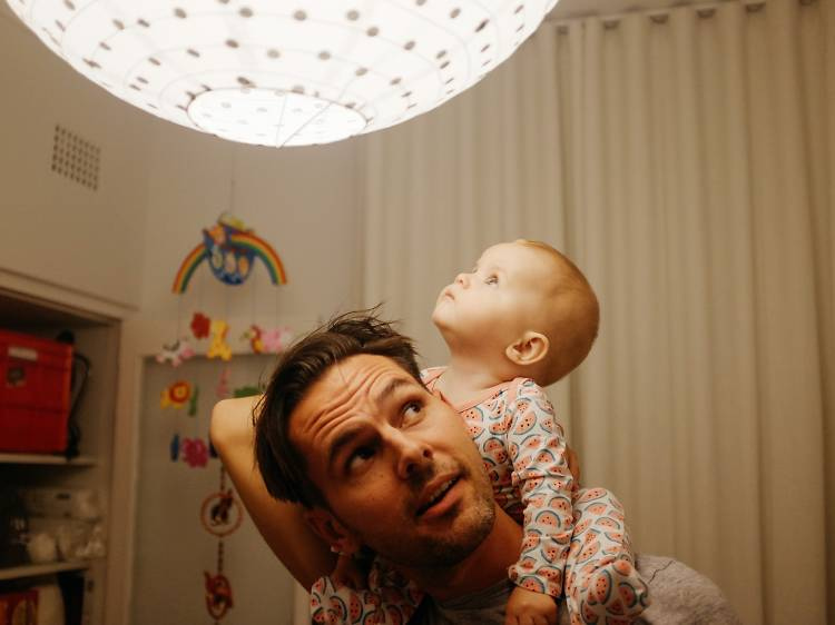 Daniel Boud, 35, and Lilya, 10 months