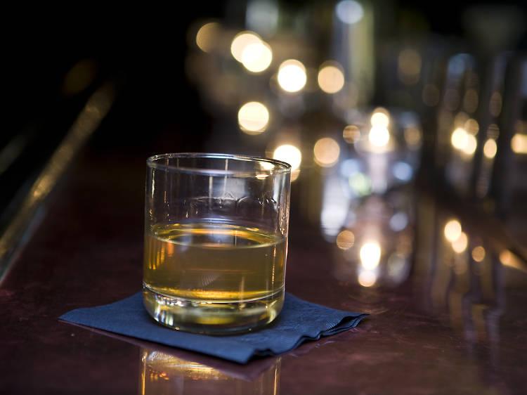 Bartender's Choice Manhattan at PDT