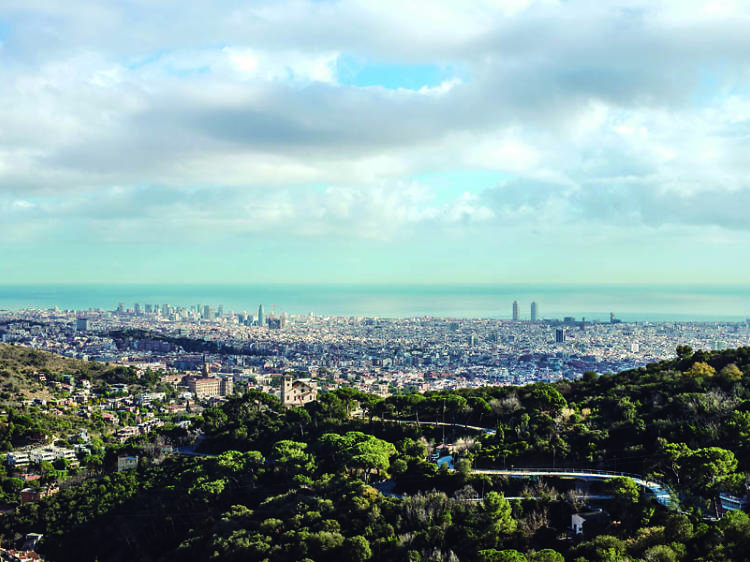 Tres colinas barcelonesas que no están en Collserola