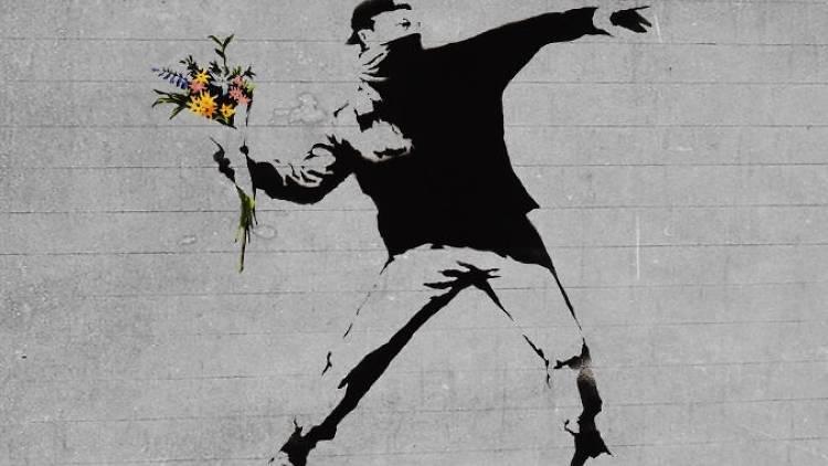 Wanna Paint Banksy night