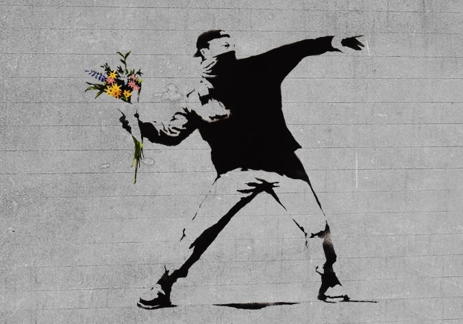 Wanna Paint Banksy night