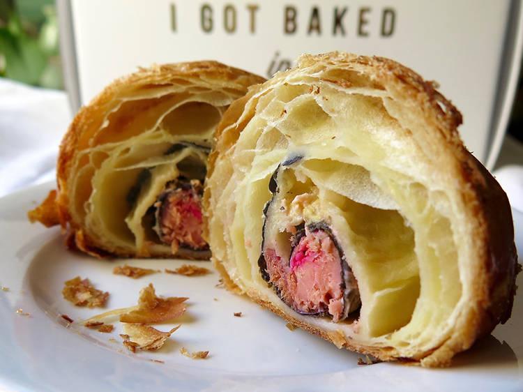 The California croissant at Mr. Holmes Bakehouse, San Francisco