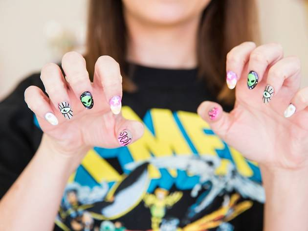 Nail art at I Scream Nails