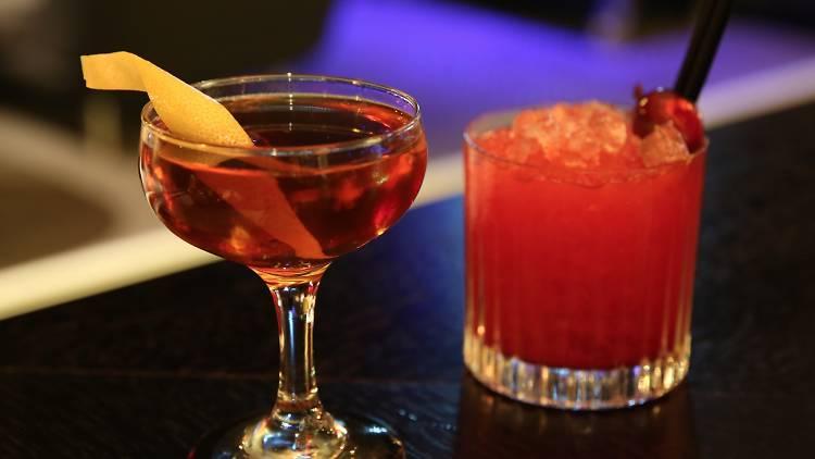 Cocktails at Sokyo Lounge