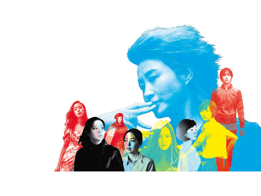 한국 영화 속 여배우 찾기