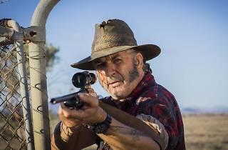 John Jarratt as Mick Taylor in Australian horror film Wolf Creek 2
