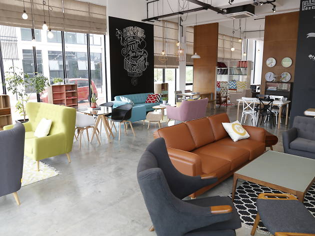 The best furniture and home decor stores in kl for Home furnishing stores