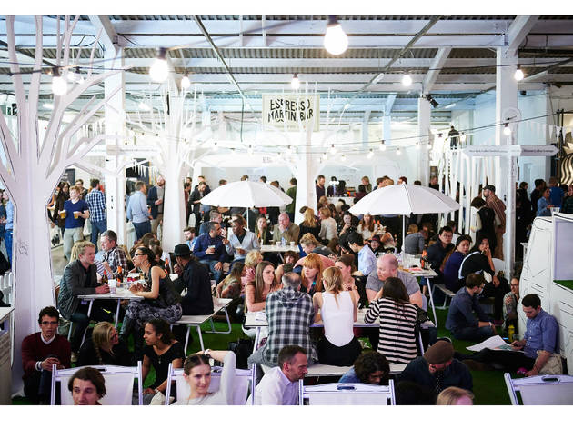 London Coffee Festival in the Old Truman Brewery