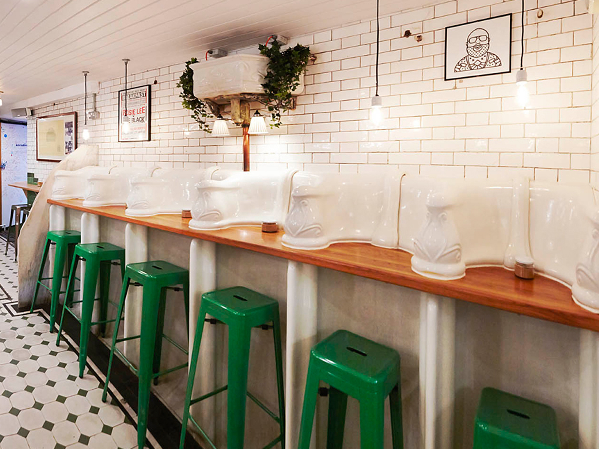 Quirky restaurants and unusual restaurants in London, The Attendant