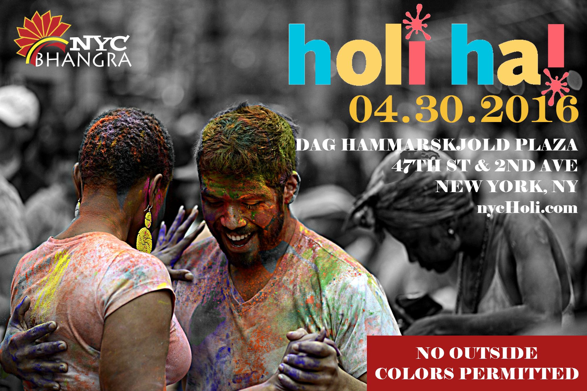NYC Holi Hai
