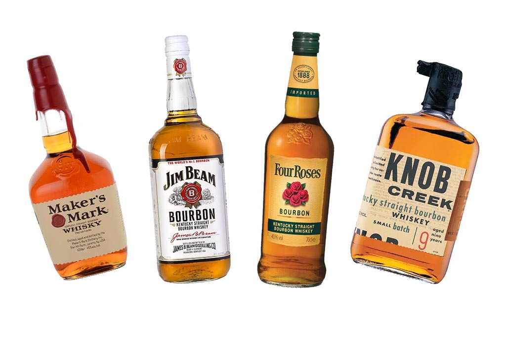 Many popular Bourbon brands actually have Japanese owners.
