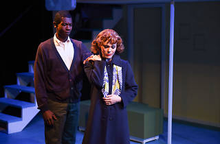 Evan Tyrone Martin and Summer Naomi Smart in Far From Heaven at Porchlight Music Theatre