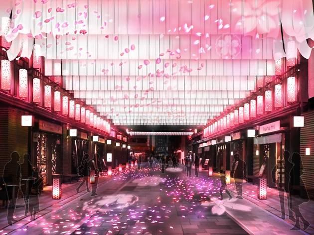 日本橋 桜フェスティバル 2016