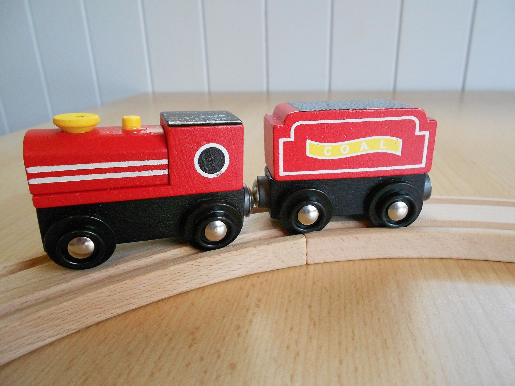 Generic toy wooden train