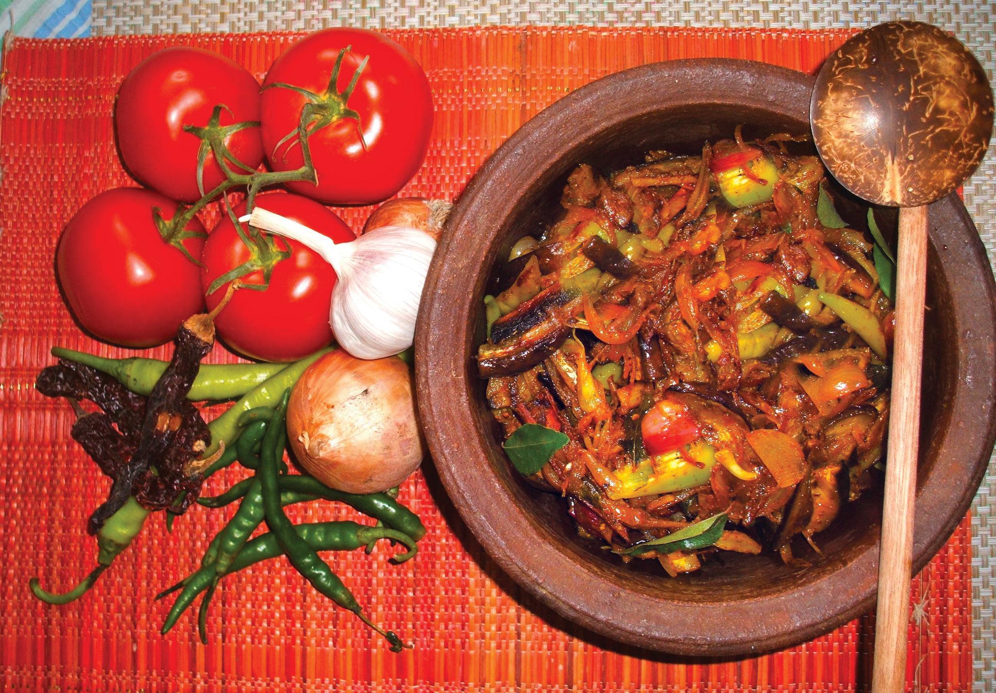 Wambutu moju (aubergine eggplant)