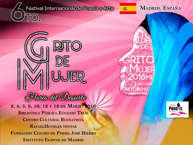 Festival Internacional de Poesía y Arte Grito de Mujer 2016