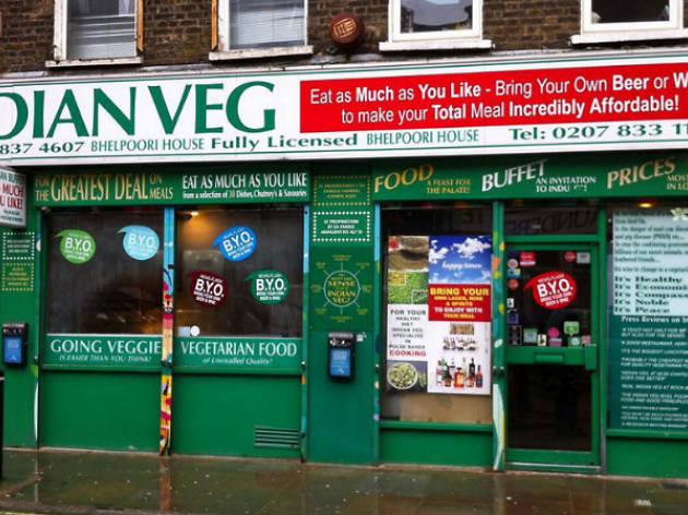 Indian Veg Restaurants In Angel London