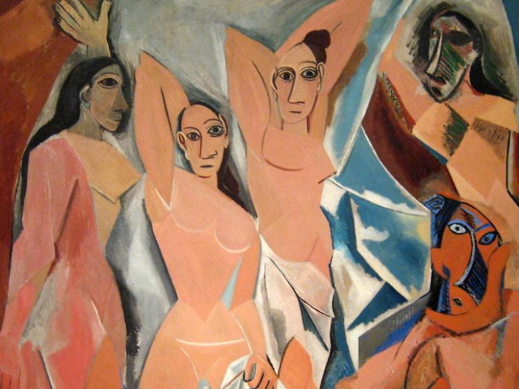 'Les Demoiselles d'Avignon' de Pablo Picasso