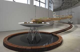 國府理展「オマージュ 相対温室」