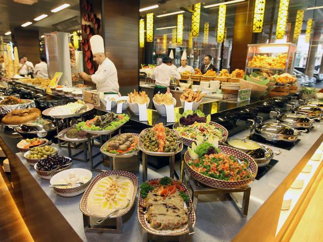 The Resort Café Sunday high tea buffet
