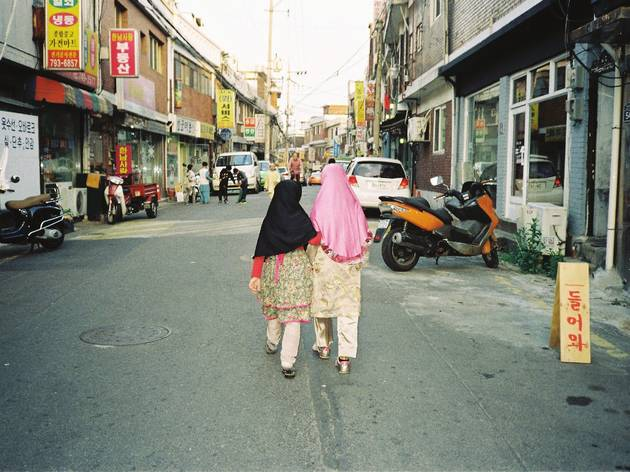 우사단로 이슬람 도시