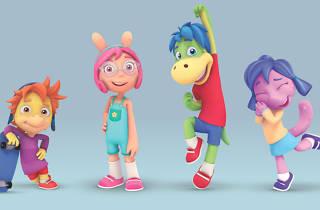 Dino Aventuras serie para niños
