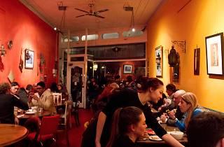 Interior at Moroccan Soup Bar