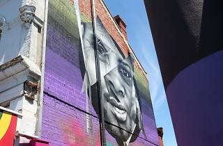 'Journeys of Courage' wall mural in Footscray