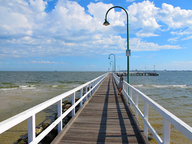 Jetty at Port Melbourne