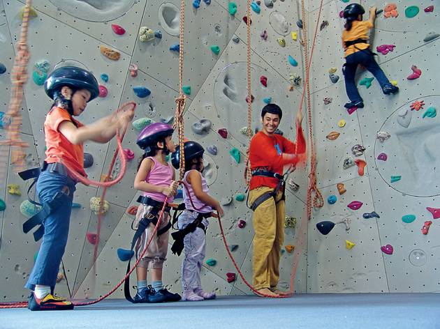 The best climbing centres for kids