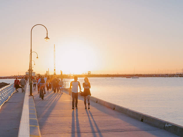 Head to St Kilda's foreshore for some good, clean fun