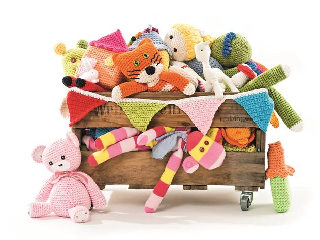 Children's crochet toys