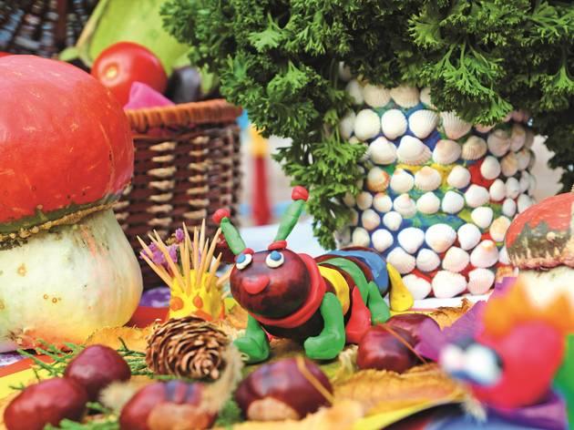 Arts and crafts caterpillar