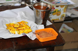 Try maravalli kilangu and tasty parcels