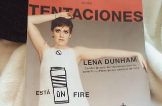 Lena Dunham a Tentaciones