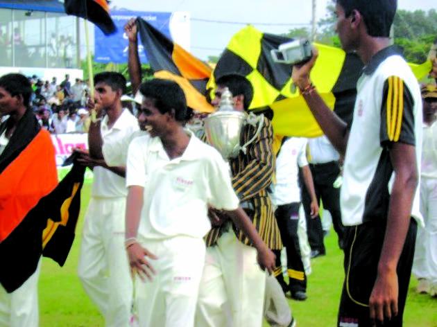 School cricket season