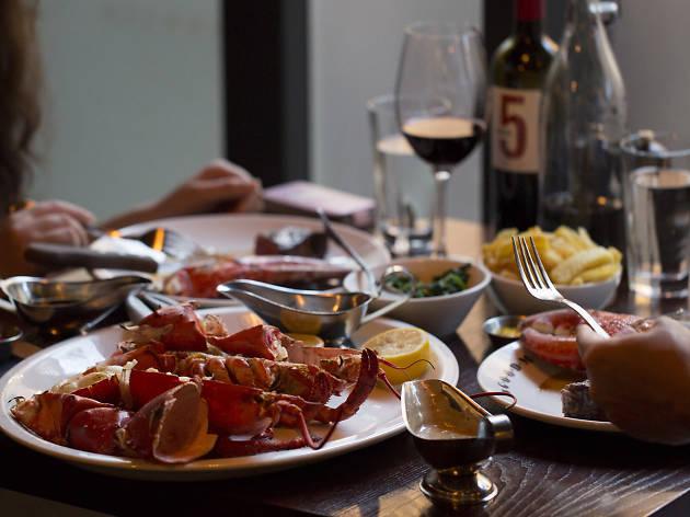 seafood in london, goodman