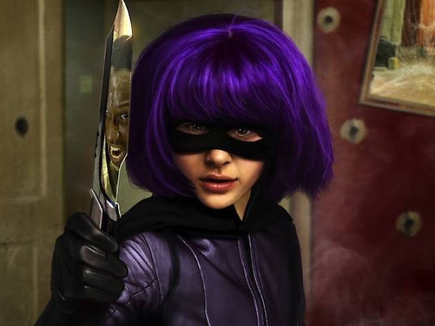 Kick-ass - Hit Girl - Chloë Grace Moretz