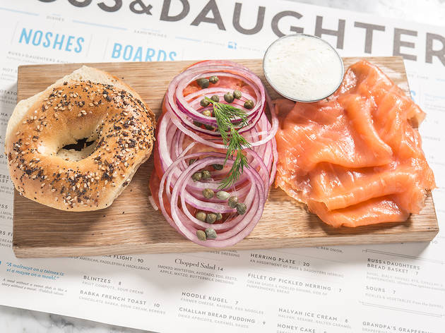 Russ & Daughters Café, best brunch NYC