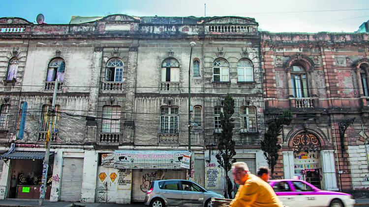 Foto de la San Rafael en la Ciudad de México