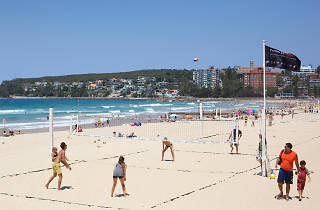 Volleyball at Manly Beach