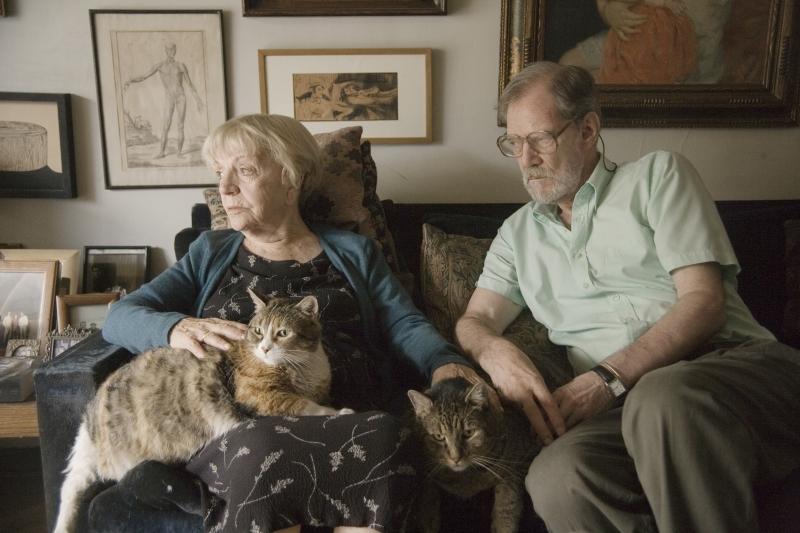 Isadora dans 'Les Vieux Chats'