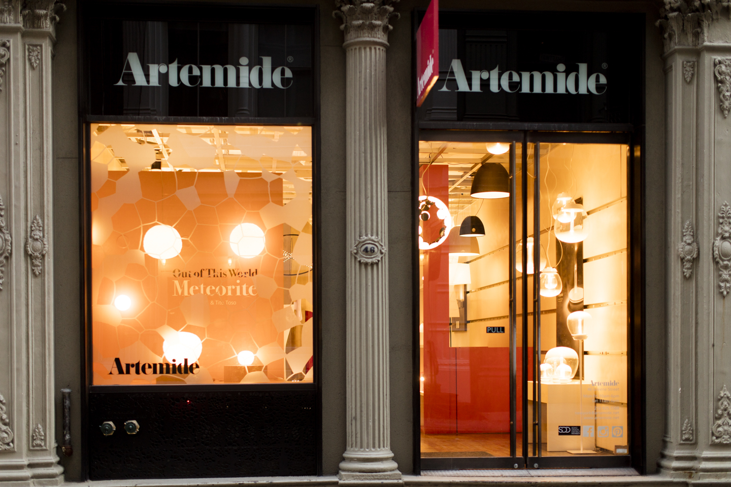 Artemide image provided by venue