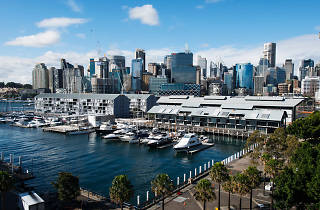 Aerial of Pyrmont