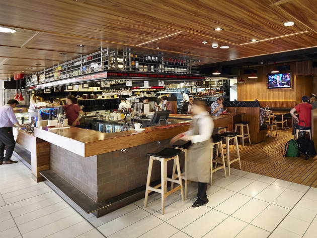 MoVida at Sydney airport