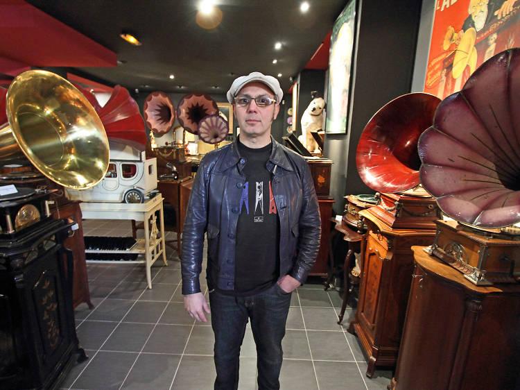 Visiter le mythique musée du Phonographe