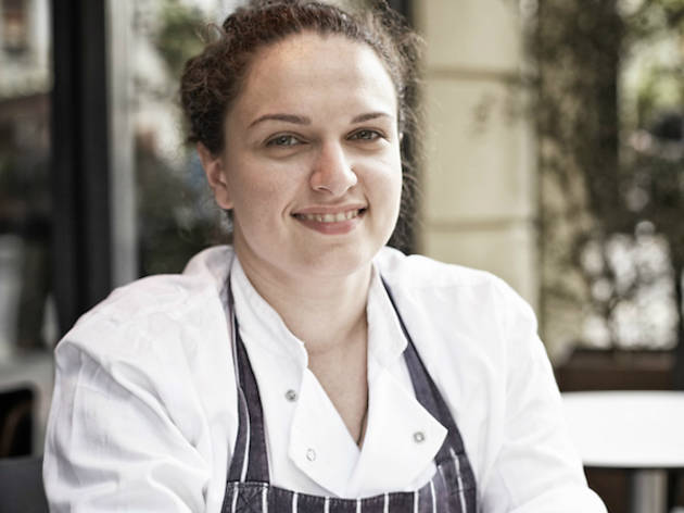 Selin Kiazim, chef at Oklava
